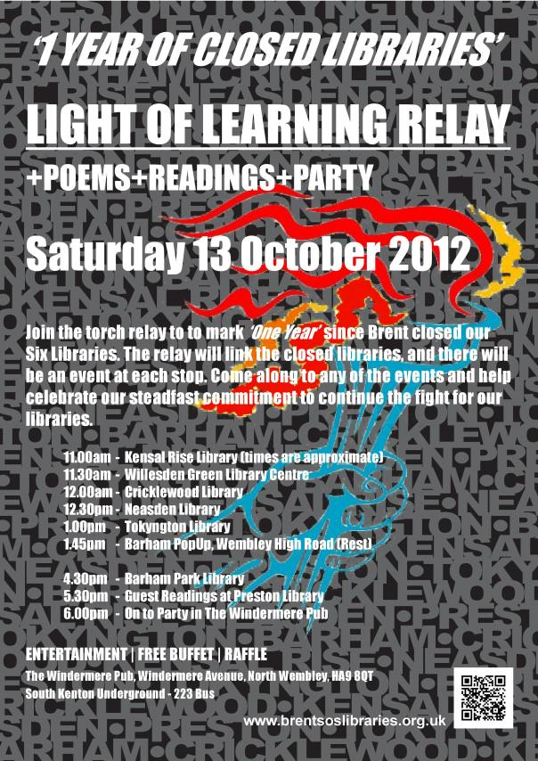 Poster of Light of Learning protest poster