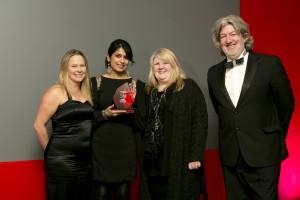 EDGE Award 2013 - digital skills sharing project win