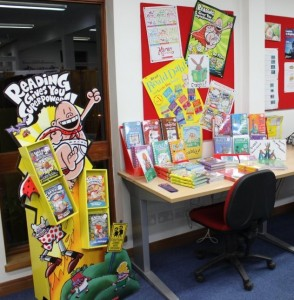 captain underpants and the grabbits display