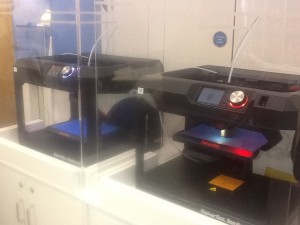 3D printers at Stafford Library