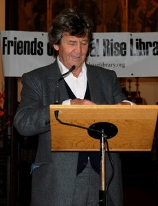 """Libraries are the essential oxygen of the mind' says Melvyn Bragg"