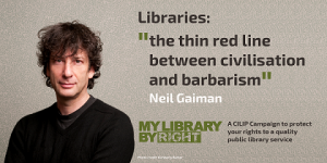 Help keep the barbarians from libraries by signing the petition