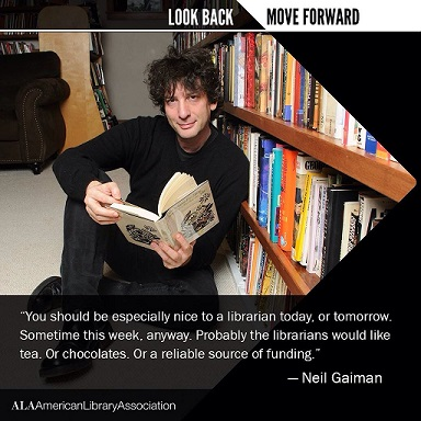 I tweeted this - Neil Gaiman (@neilhimself) retweeted it. My Twitter feed has been going crazy ever since.