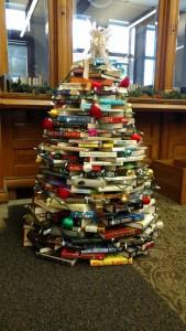 christmas library